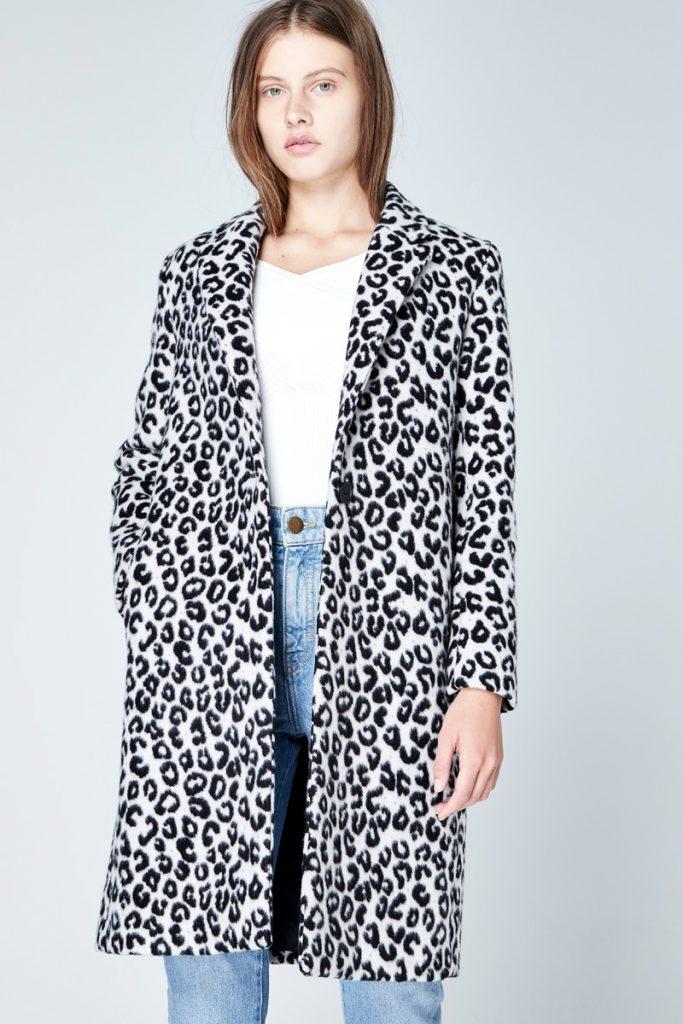 Maje manteau en laine
