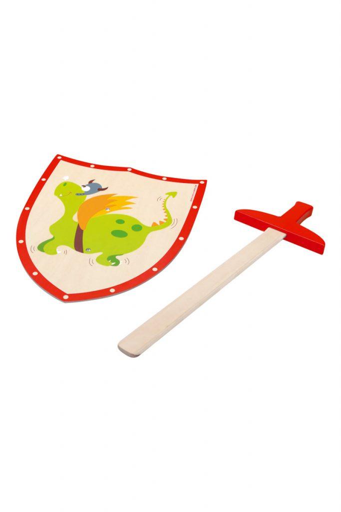 Scratch épée et bouclier