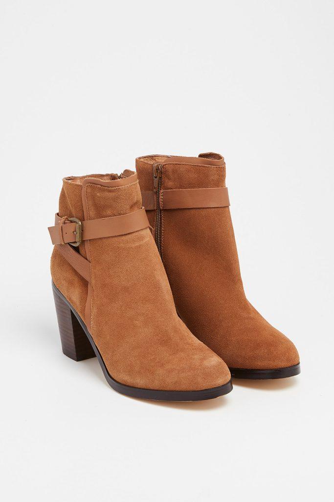 Camaïeu bottines marron