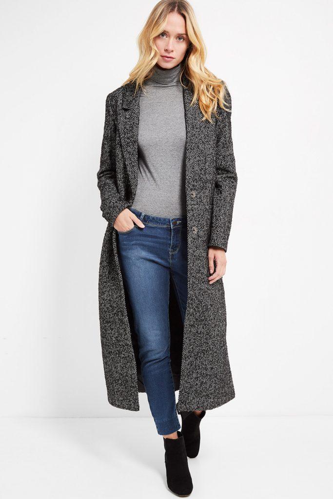 Camaïeu manteau long