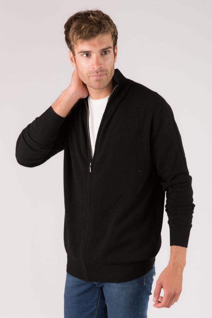 Just Cashmere veste noir