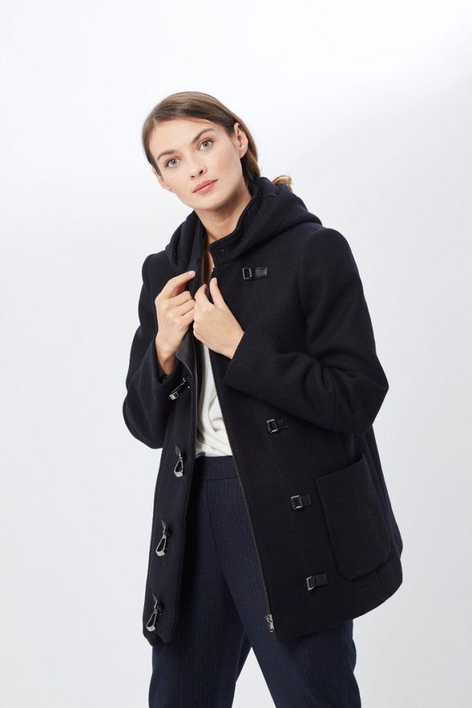 Zapa duffle coat en laine