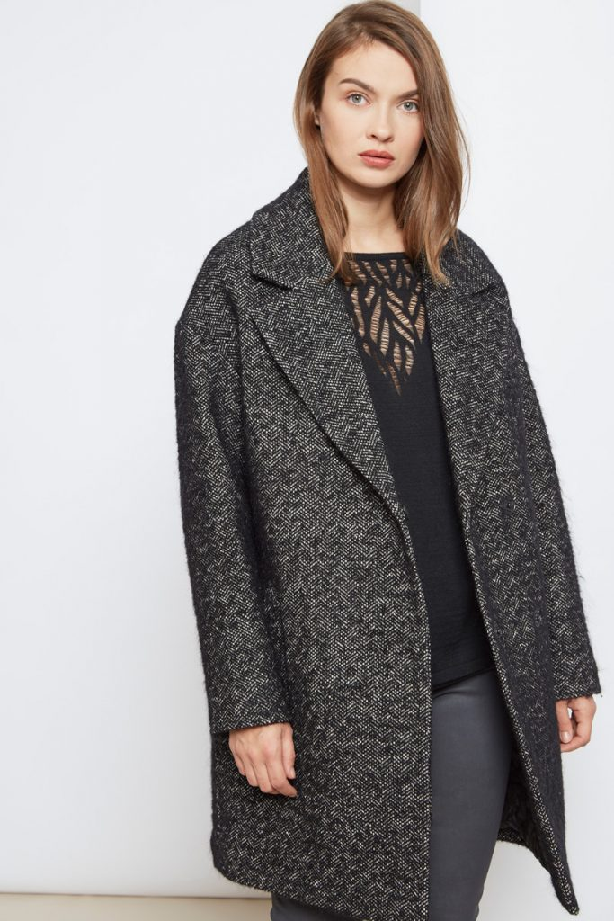 Zapa manteau laine