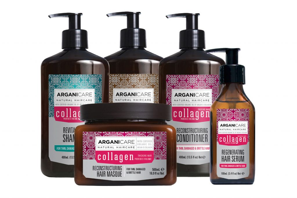 Argani care routine réparatrice collagène