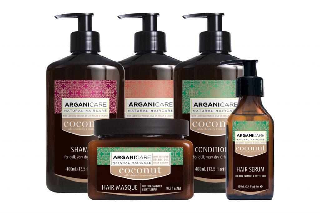 Argani care routine réparatrice huile de coco