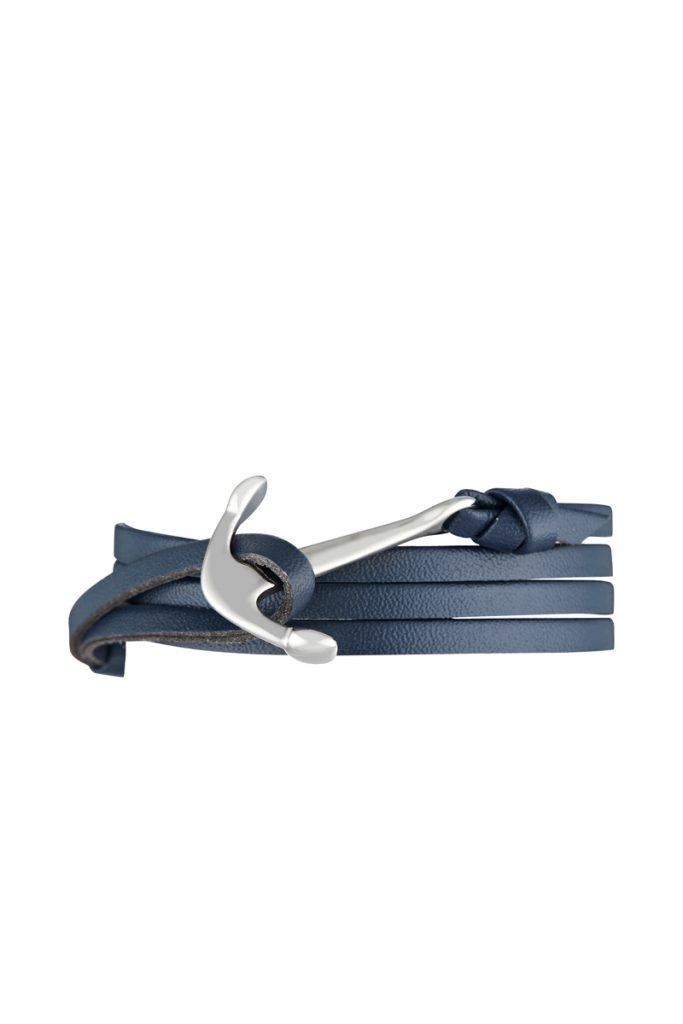 Clio Blue Homme bracelet cuir