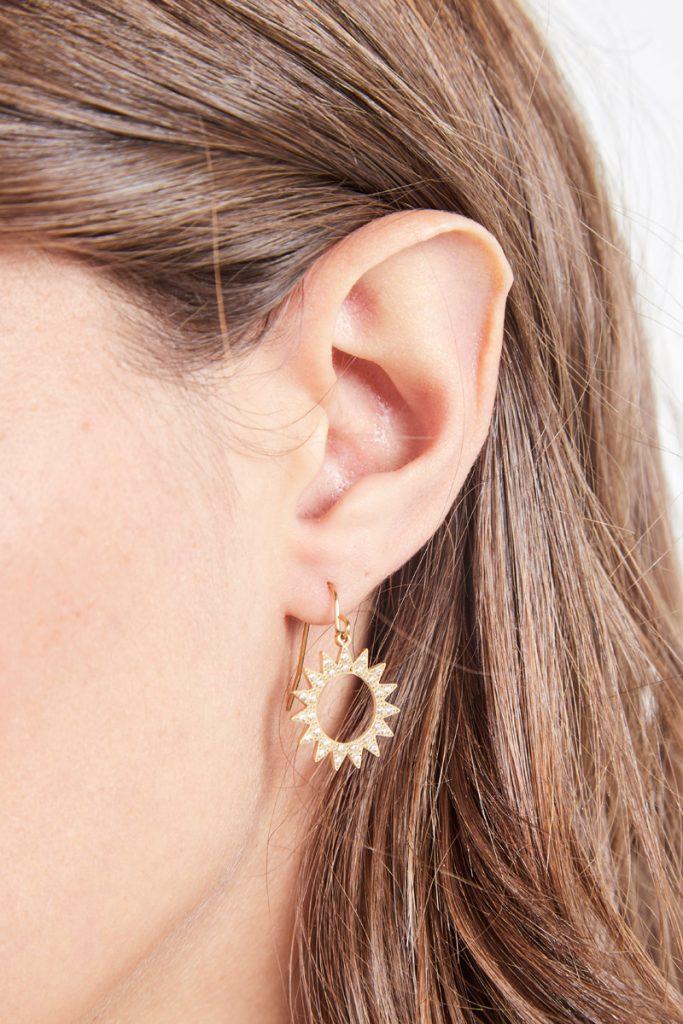 collectionIRL boucles d'oreilles dorées