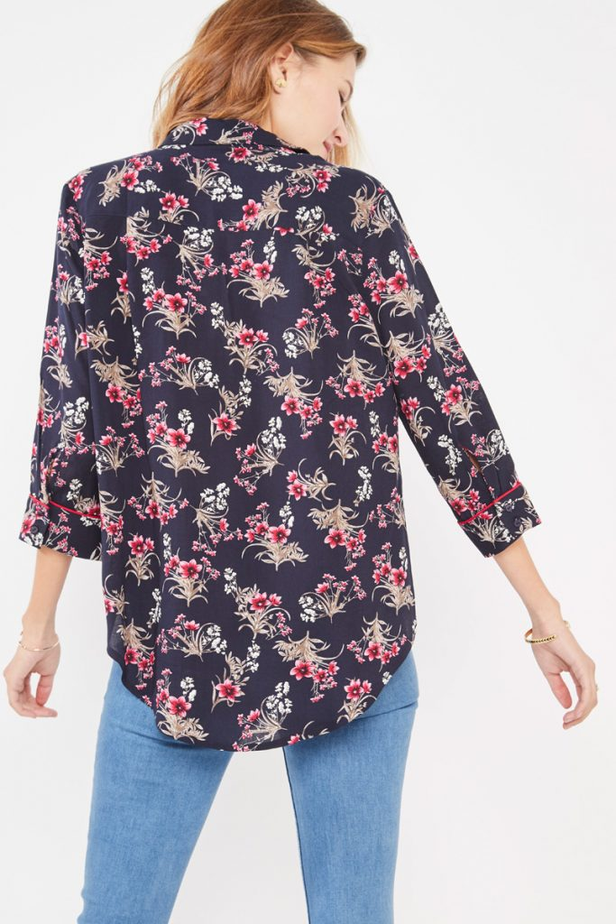 collectionIRL chemise fleurie