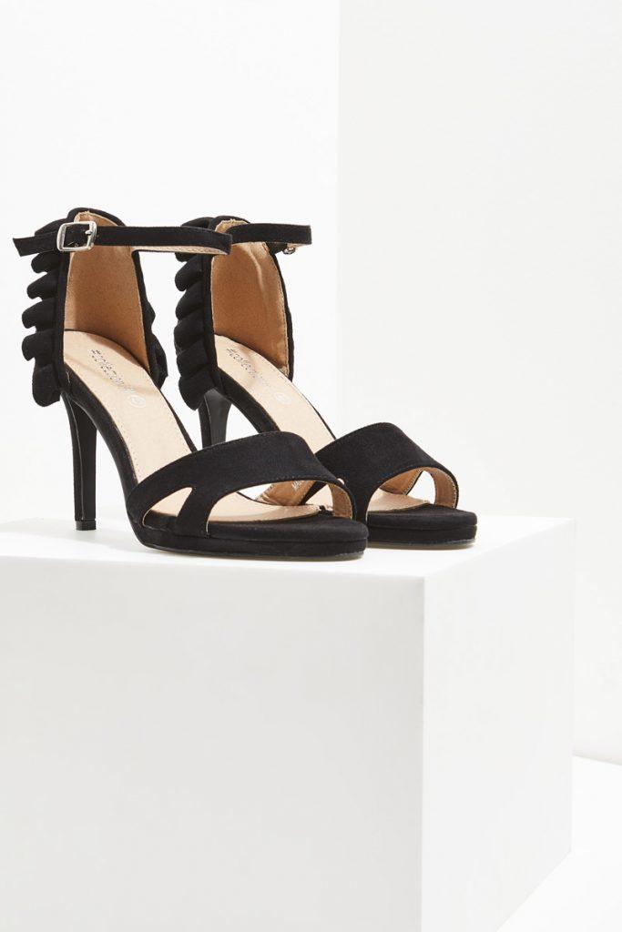collectionIRL sandales talons effet nubuck