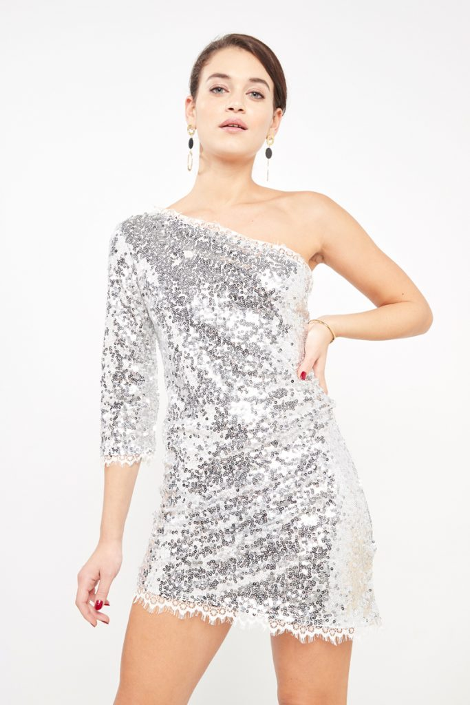 partyIRL robe one shoulder
