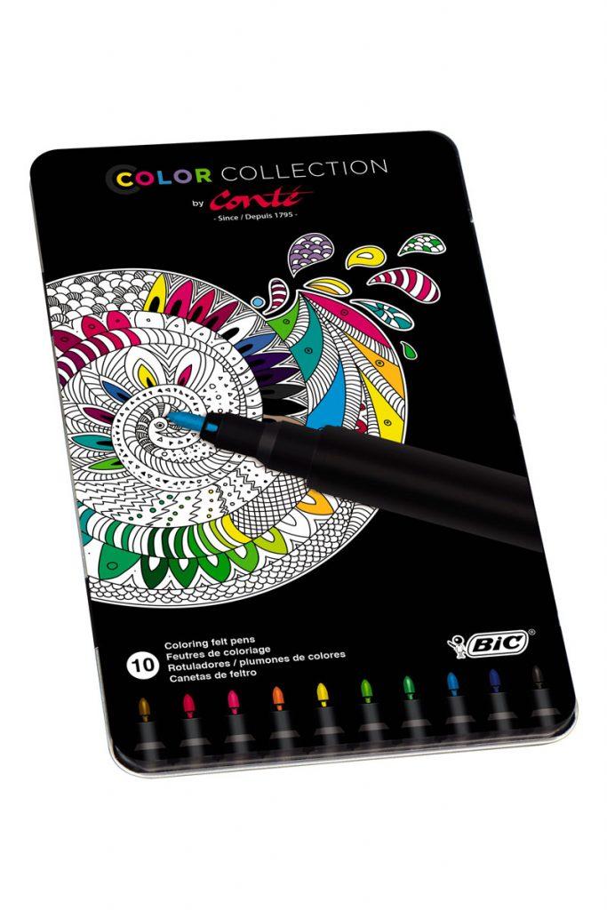 Bic 10 feutres coloriage