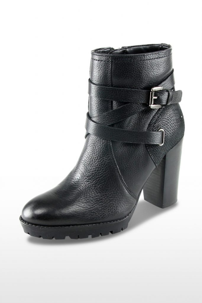 Chaussures casual bottines en cuir