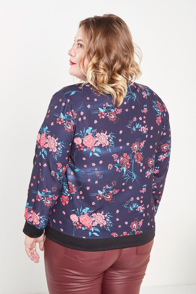 collectionIRL bomber fleuri