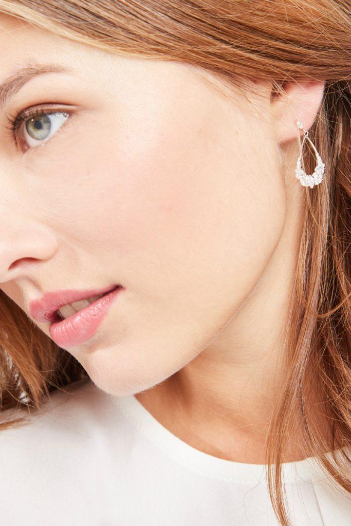 collectionIRL boucles d'oreilles argent