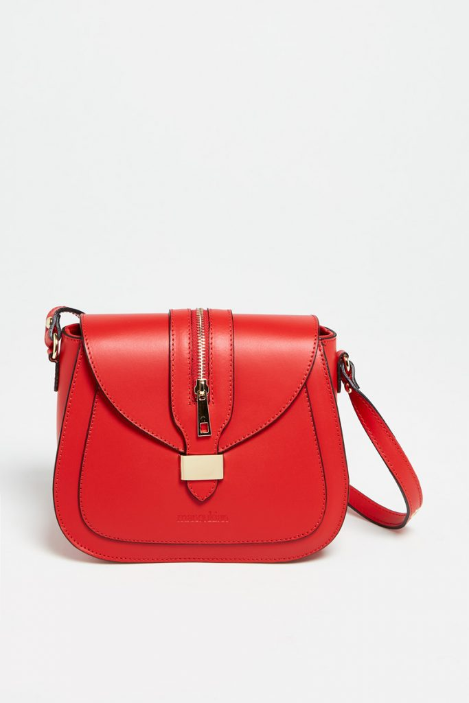 Manoukian sac bandoulière en cuir