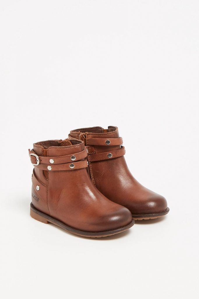 mo8 bottines en cuir