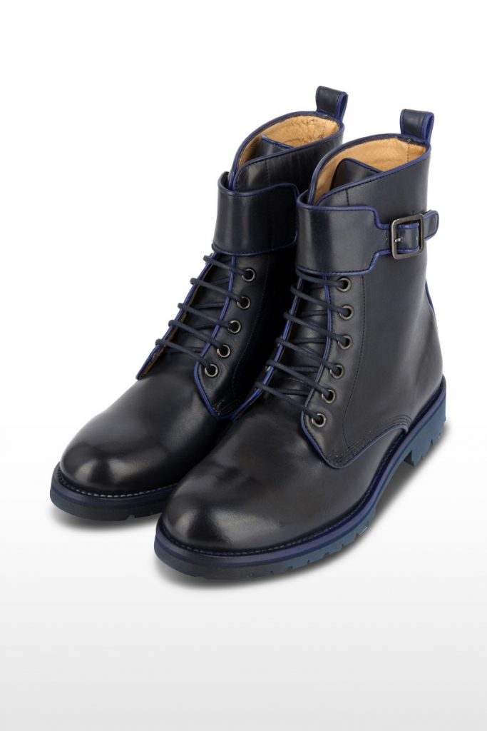 Oh my shoes bottines cuir army