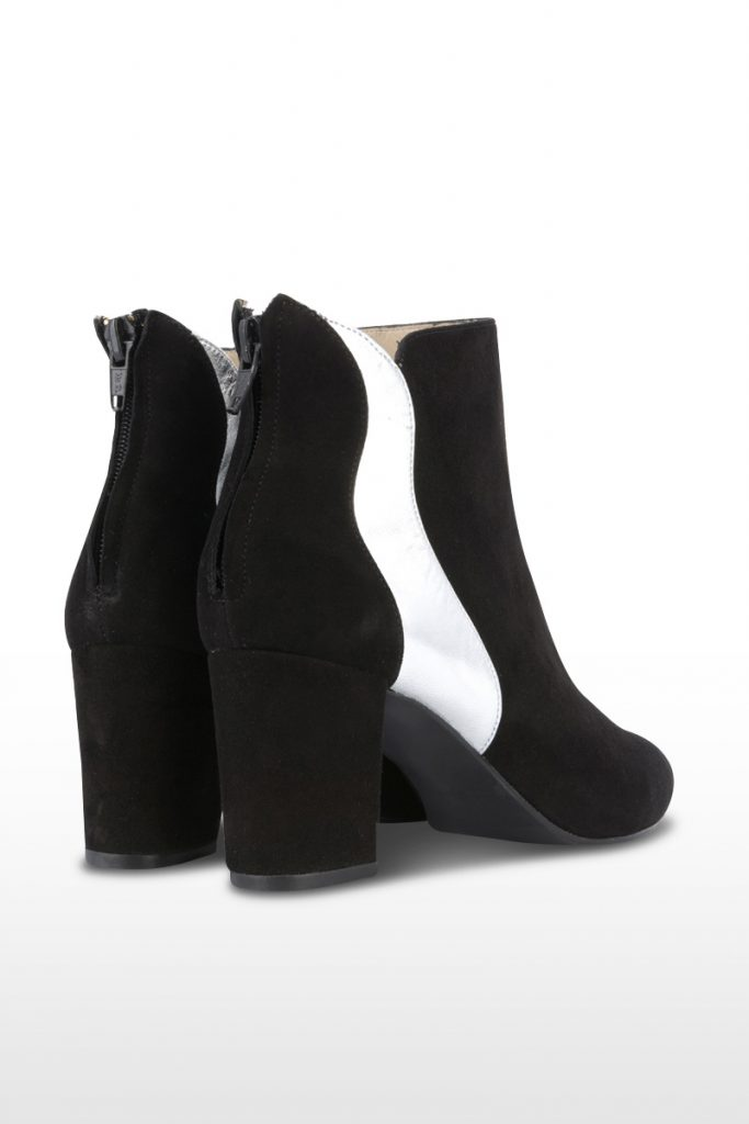 Oh my shoes bottines cuir chèvre nubuck