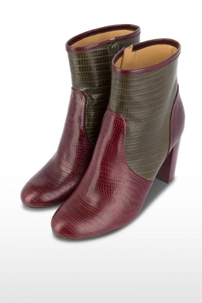 Oh my shoes bottines en cuir