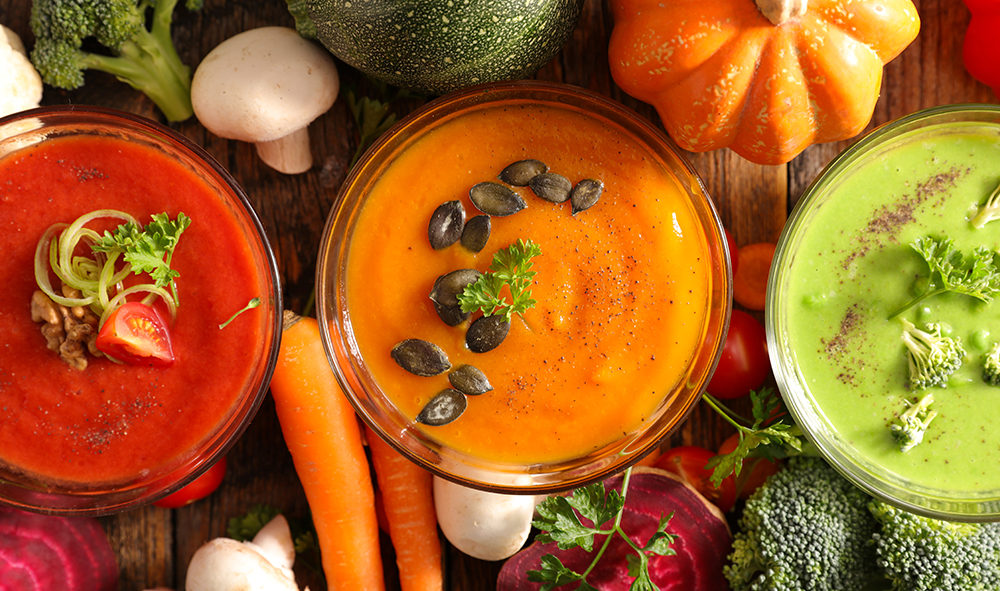3 recettes de soupe pour l'hiver.