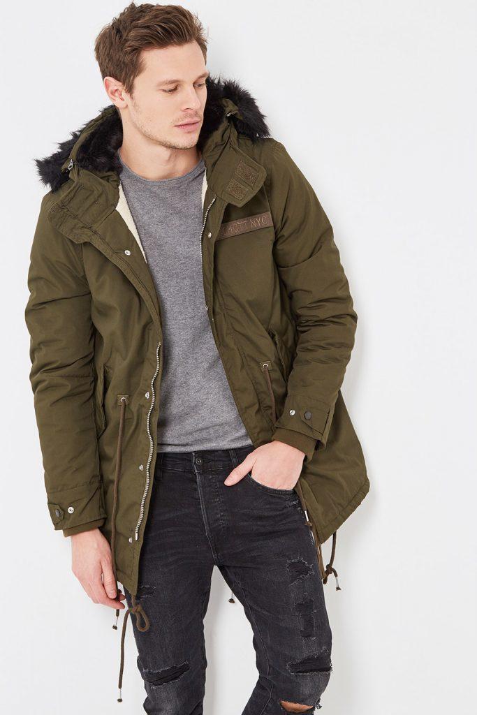 Schott manteau