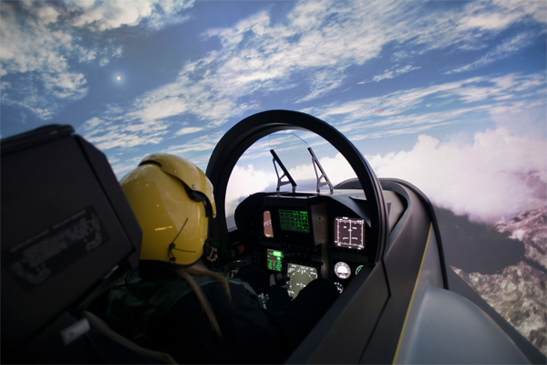 I-way 1 session simulation avion de chasse