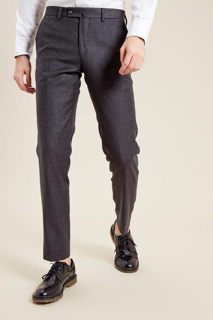 Vicomte A pantalon ajusté en laine