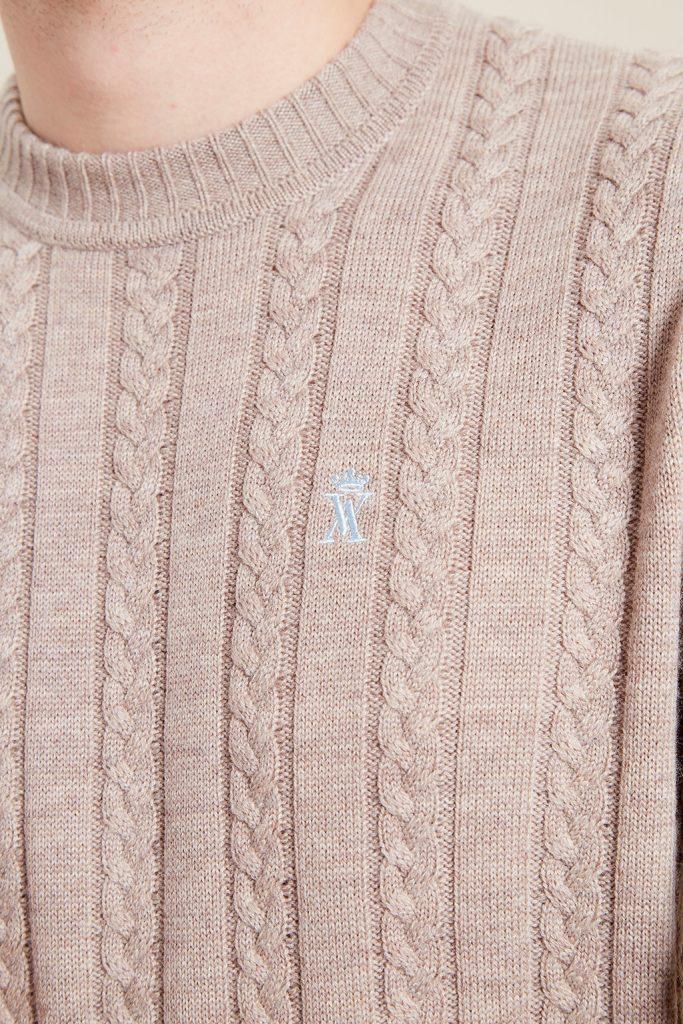 Vicomte A pull en laine