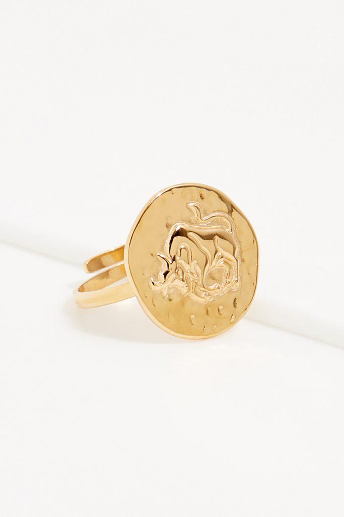 collectionIRL bague dorée Taureau