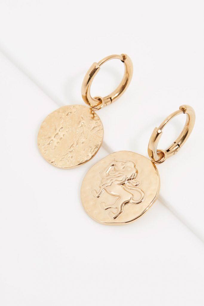 collectionIRL boucles d'oreilles Lion