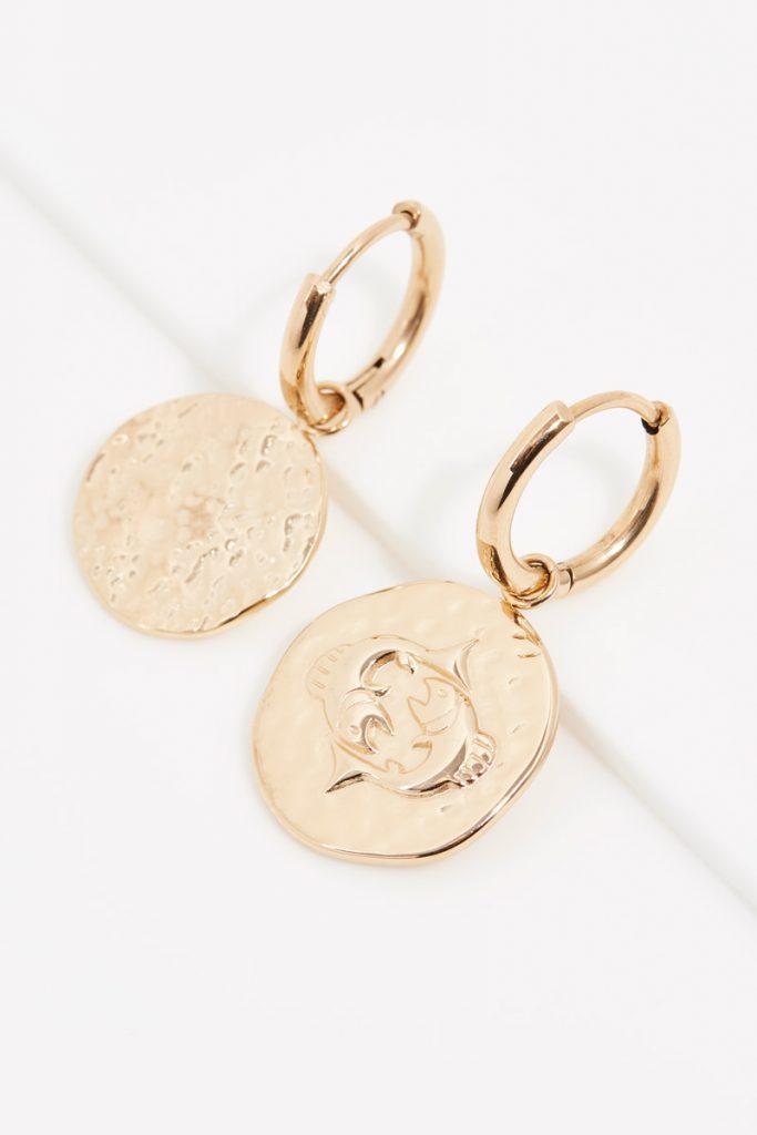 collectionIRL boucles d'oreilles dorées Poisson