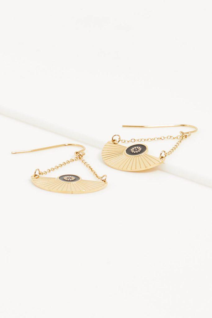 collectionIRL boucles oreilles dorées