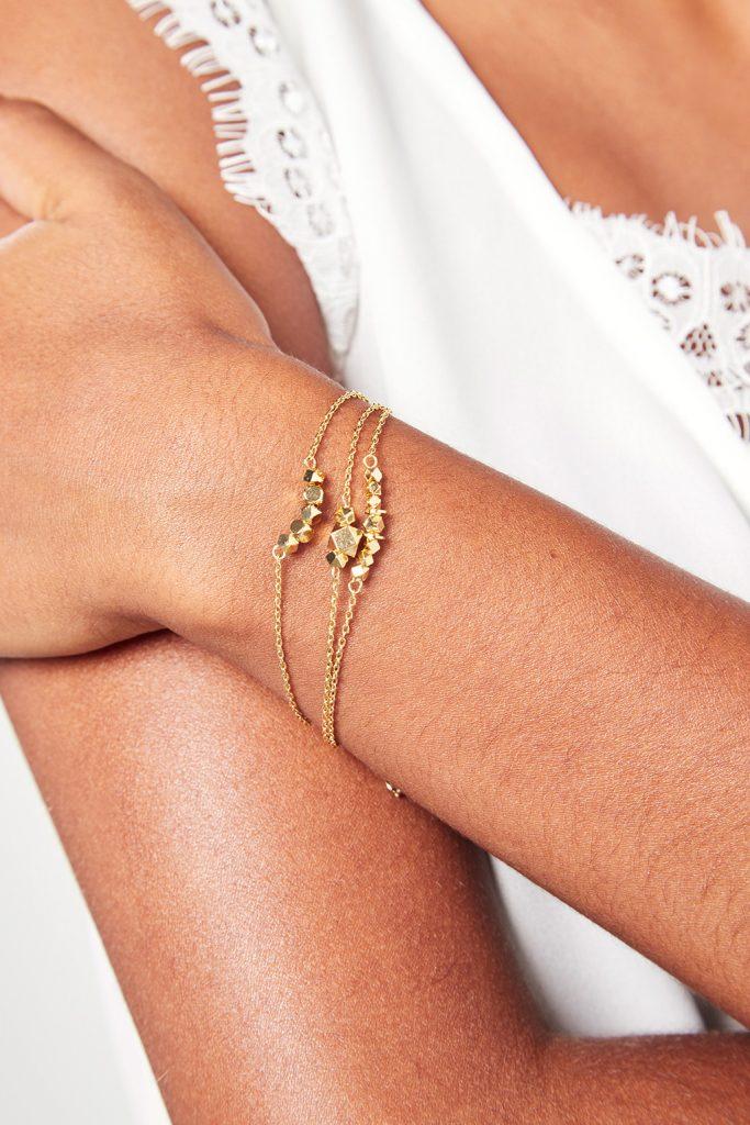 collectionIRL bracelet doré or fin