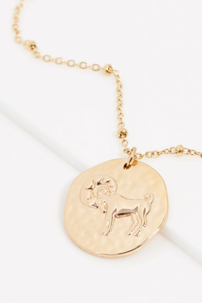 collectionIRL collier doré Bélier