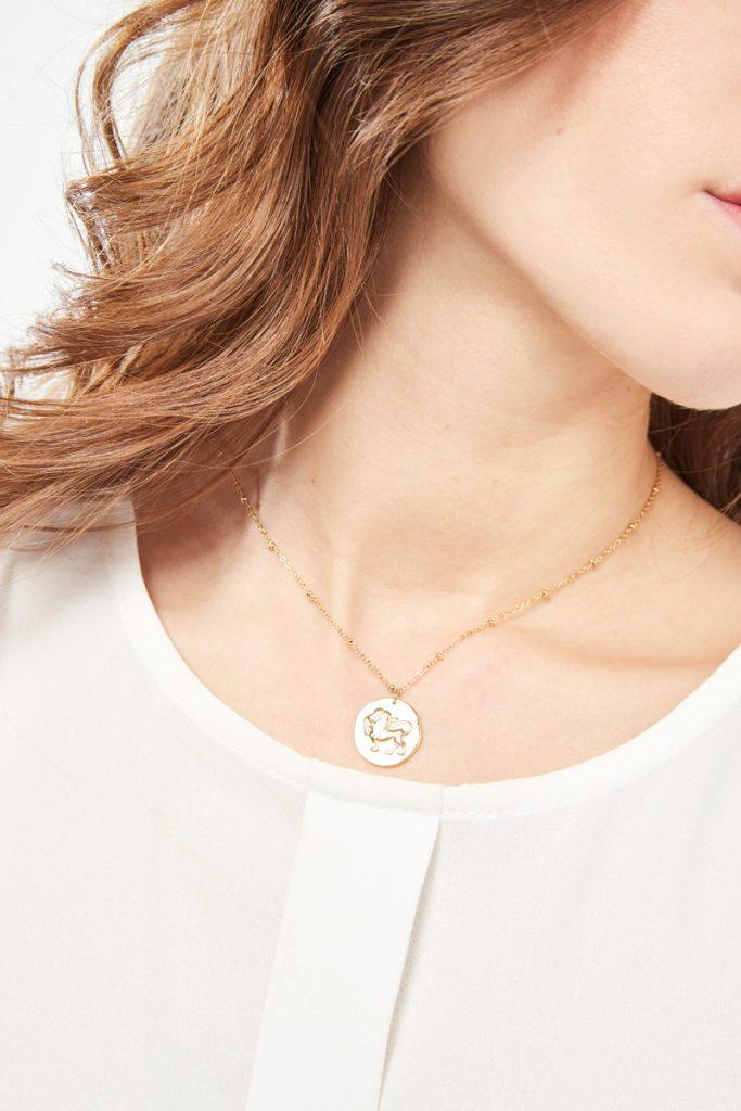 collectionIRL collier doré Lion