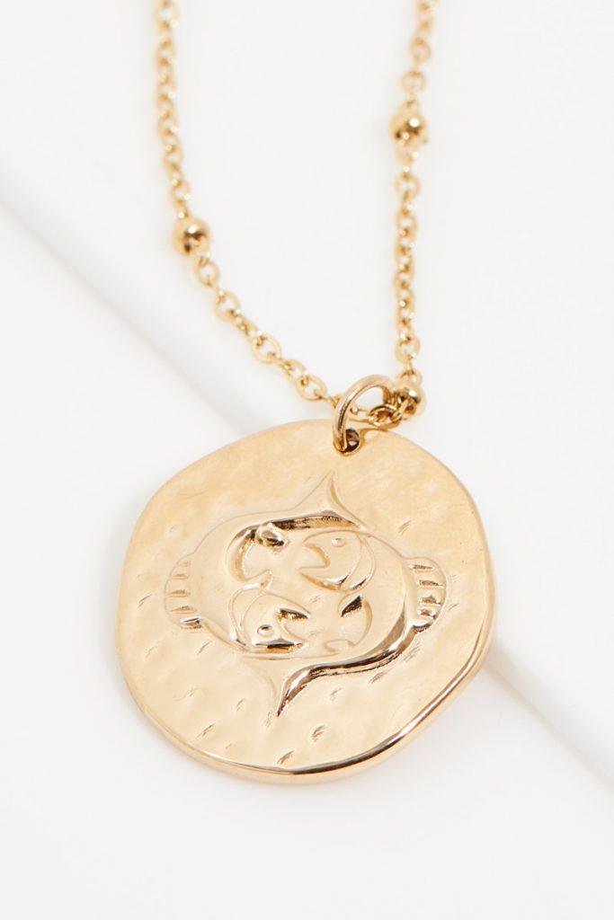 collectionIRL collier dorée Poisson