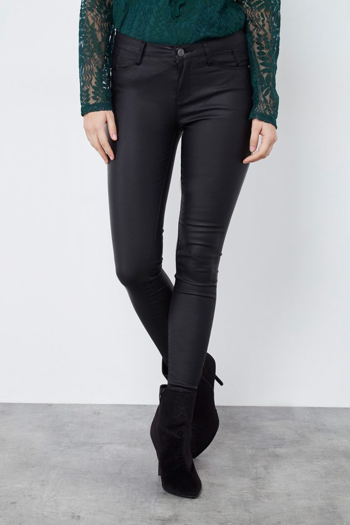 collectionIRL pantalon skinny enduit