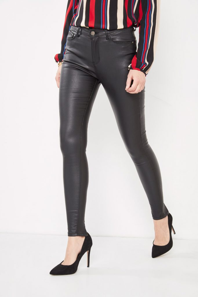 collectionIRL pantalon slim enduit