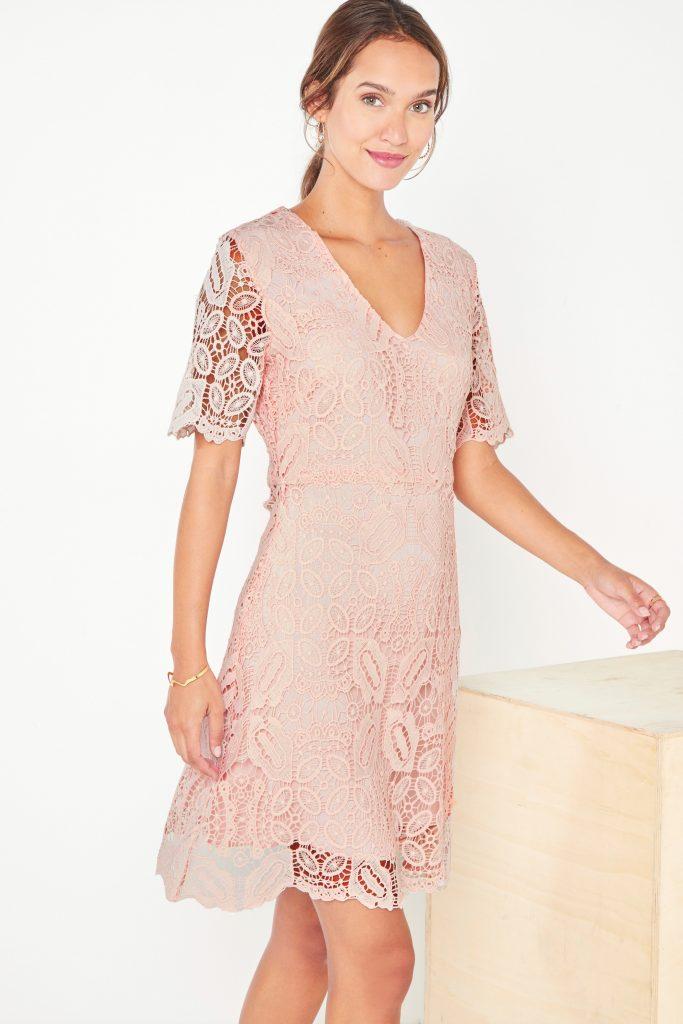 collectionIRL robe en guipure