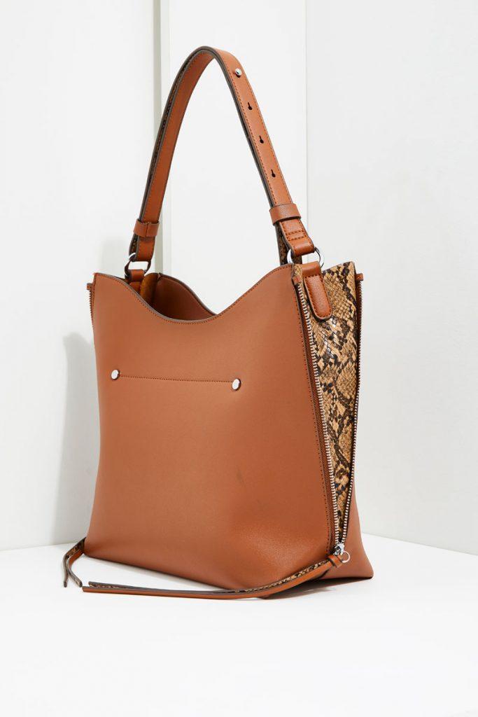 collectionIRL sac porté épaule effet cuir