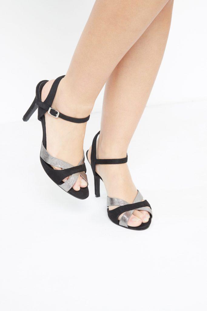 collectionIRL sandales talons irisées