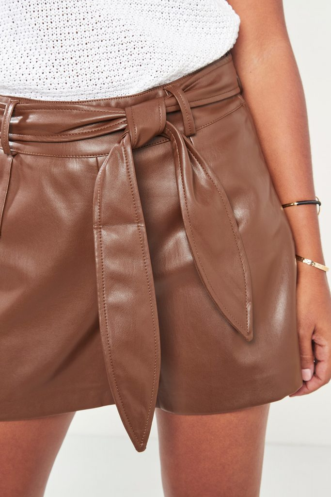 collectionRIL short effet cuir
