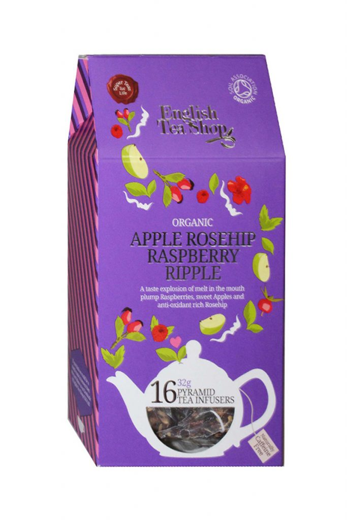 English Tea Shop infusion pomme framboise bio