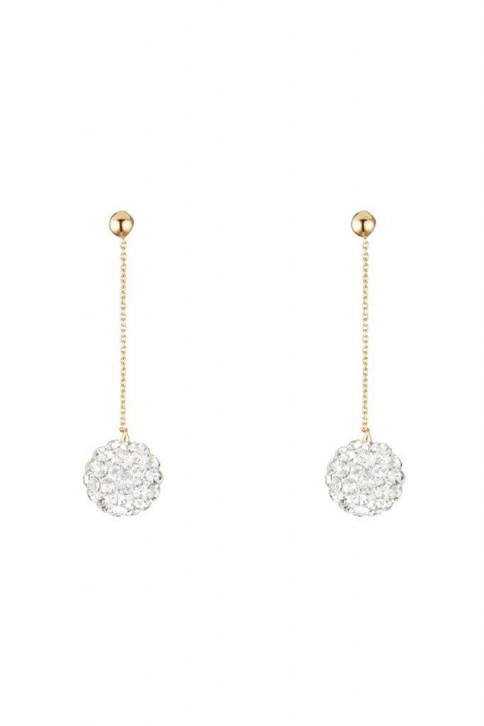 Oro di Oro boucles d'oreilles bulles de crystal