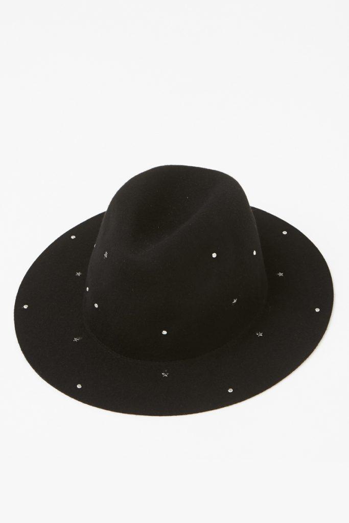 Pimkie chapeau fedora en laine