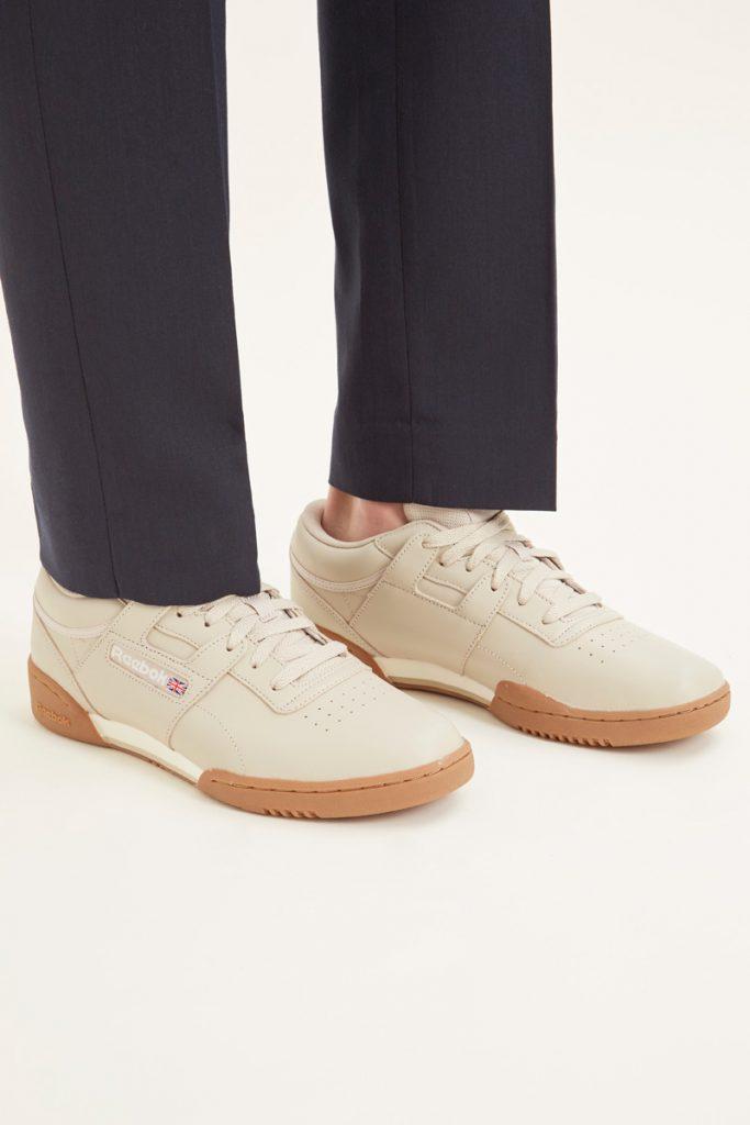 Reebok sneakers en cuir