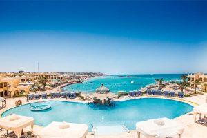 Sunny days palma de mirette hurghada egypte - vacances au soleil en hiver