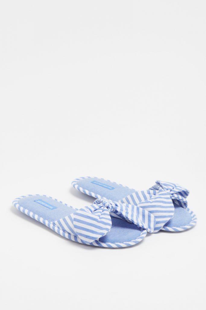 Women Secret pantoufles rayées