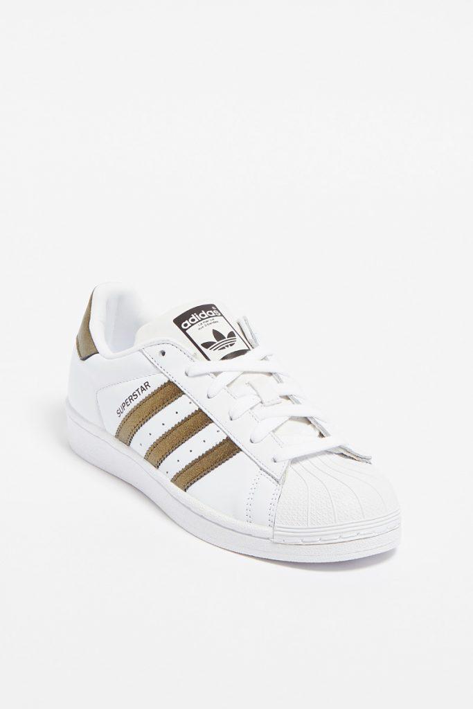 Adidas sneakers en cuir superstar w