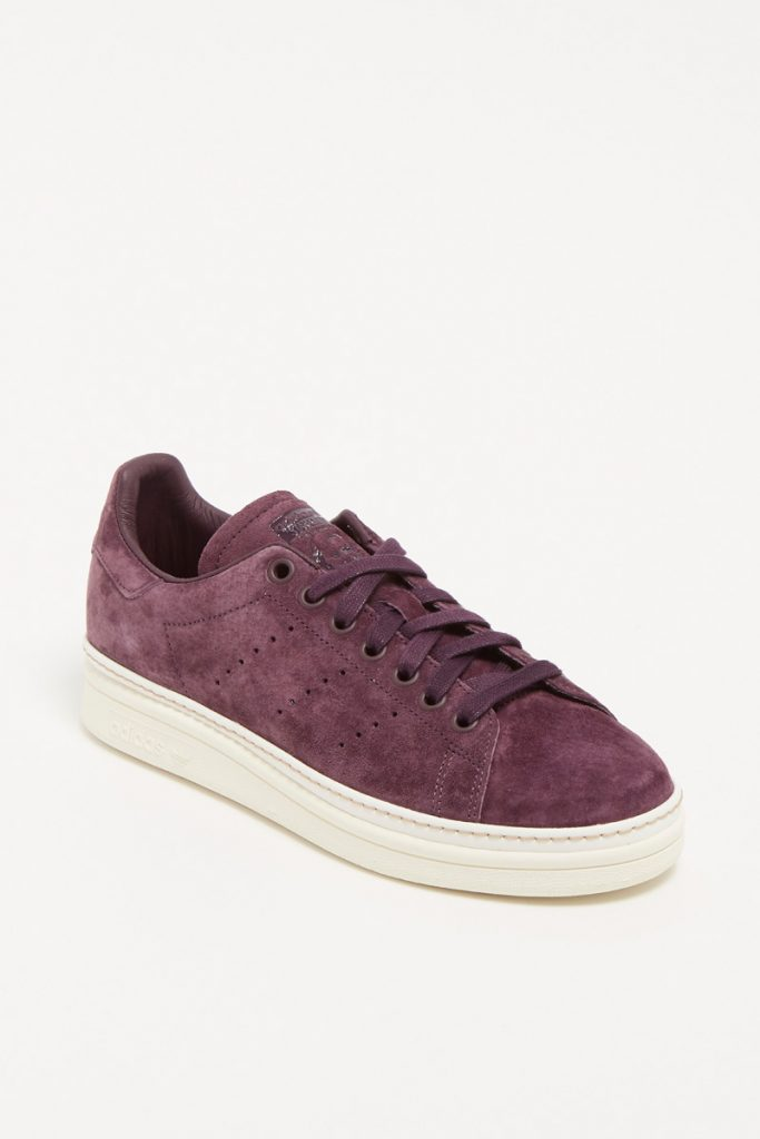 Adidas sneakers en nubuck stan smith new bold w